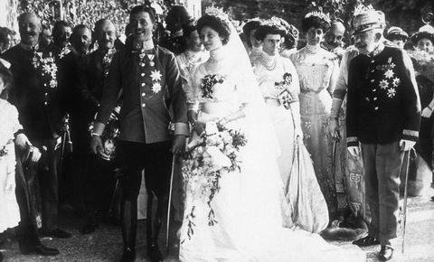 Wedding of Archduke Charles Franz Joseph in 1911