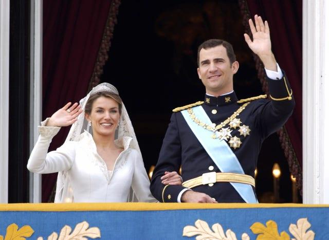 the wedding of crown prince felipe  letizia ortiz rocasolano