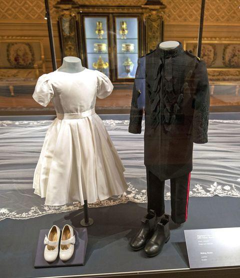 Prince George and Princess Charlotte'sRoyal Wedding exhibition at Windsor Castle