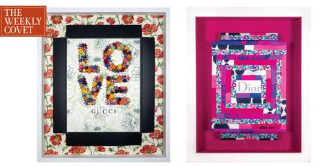 Picture frame, Textile, Patchwork, Rectangle, Design, Art, Pattern, Magenta, Pattern, Visual arts,