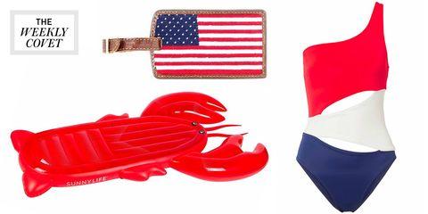 Red, Footwear, Usb flash drive, Flag, Plastic,