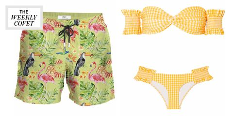 Clothing, Product, Yellow, Undergarment, Swimsuit bottom, Swimwear, Meadow, Baby & toddler clothing, Swim brief, Briefs,