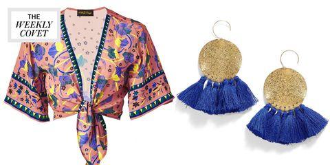 Clothing, Blue, Outerwear, Cobalt blue, Jacket, Fashion, Sleeve, Fashion design, Dress, Fashion accessory,