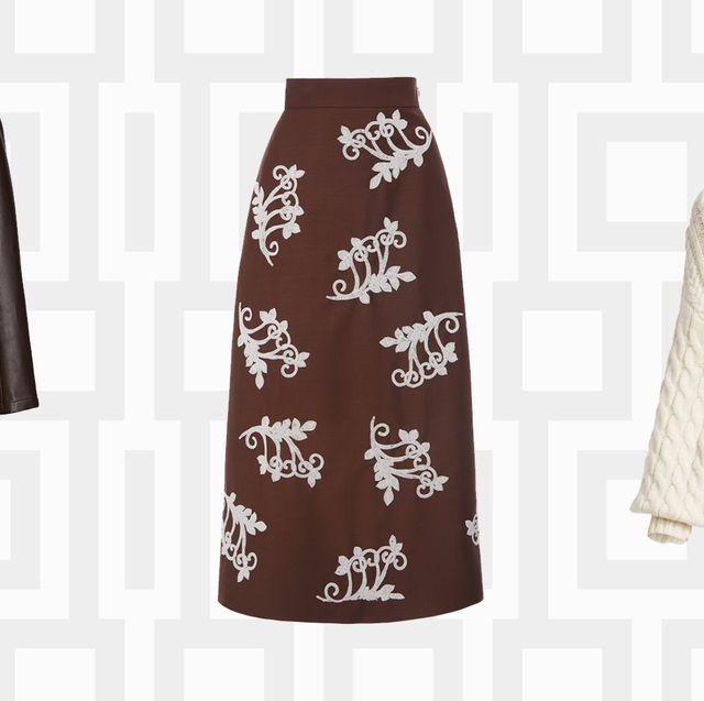 bottega veneta trench, prada skirt, alc sweater
