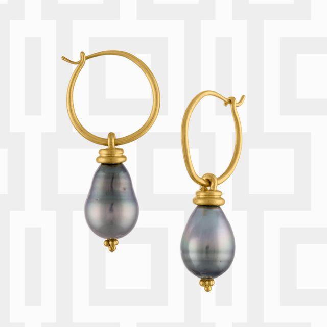 sethi couture, prounis, louis vuitton hoop earrings