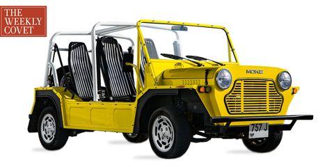 Land vehicle, Vehicle, Car, Motor vehicle, Yellow, Transport, Classic car, Subcompact car, Automotive design, Automotive wheel system,
