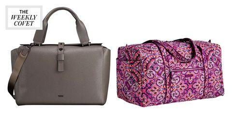 Product, Bag, Style, Purple, Luggage and bags, Fashion, Shoulder bag, Magenta, Violet, Beige,