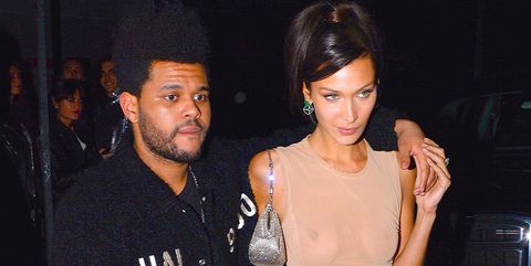 8950544b0e8b All of The Weeknd s Bella Hadid and Drake References in His Song ...