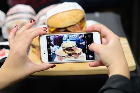 Las hamburguesas del restauranteCarl's Jr.