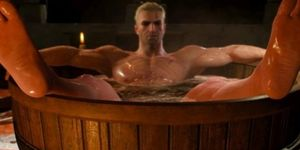 The Witcher hot tub