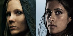 The Witcher Anya Chalotra Freya Allan