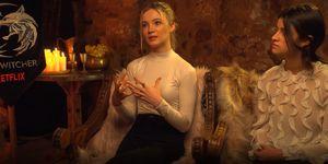The Witcher entrevista Freya Allan Anya Chalotra