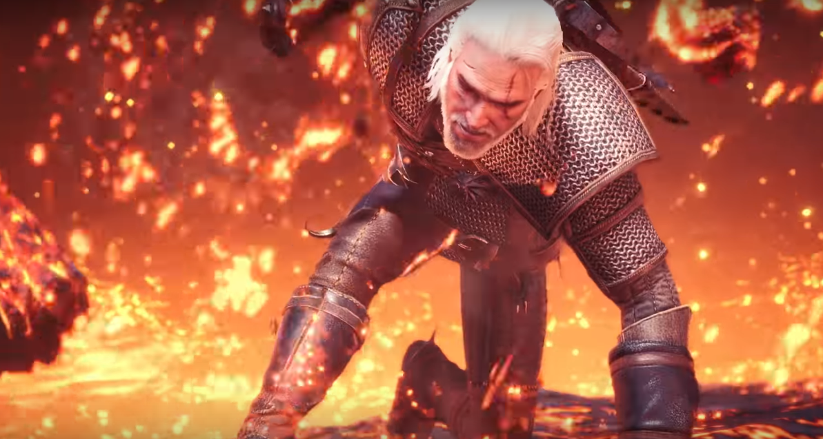 The Witchers Geralt Of Rivia Has Joined The Monster Hunter World As