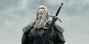 Henry Cavill as Geralt of Rivia, The Witcher poster