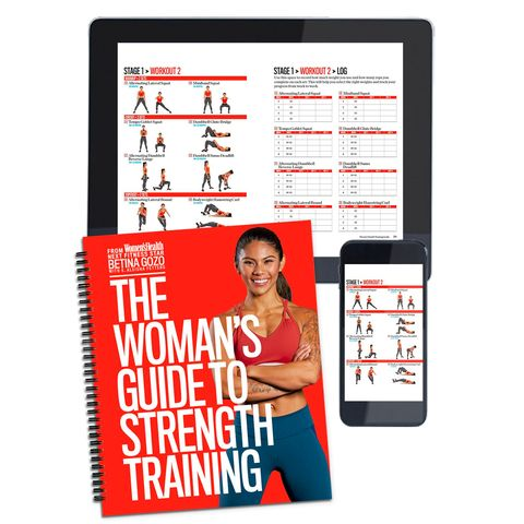 Womens Health The Womans Guide To Strength Training
