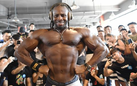 Ulisses shared fitness tips with fans in Chengdu,Sichuan, China on 20 August 2018