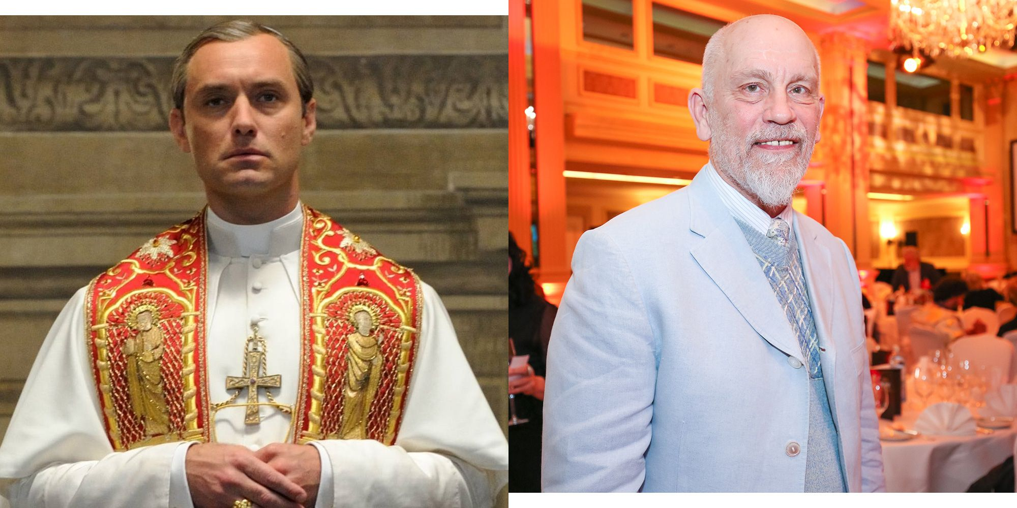 The Young Pope Season 2 - Jude Law and John Malkovich Will