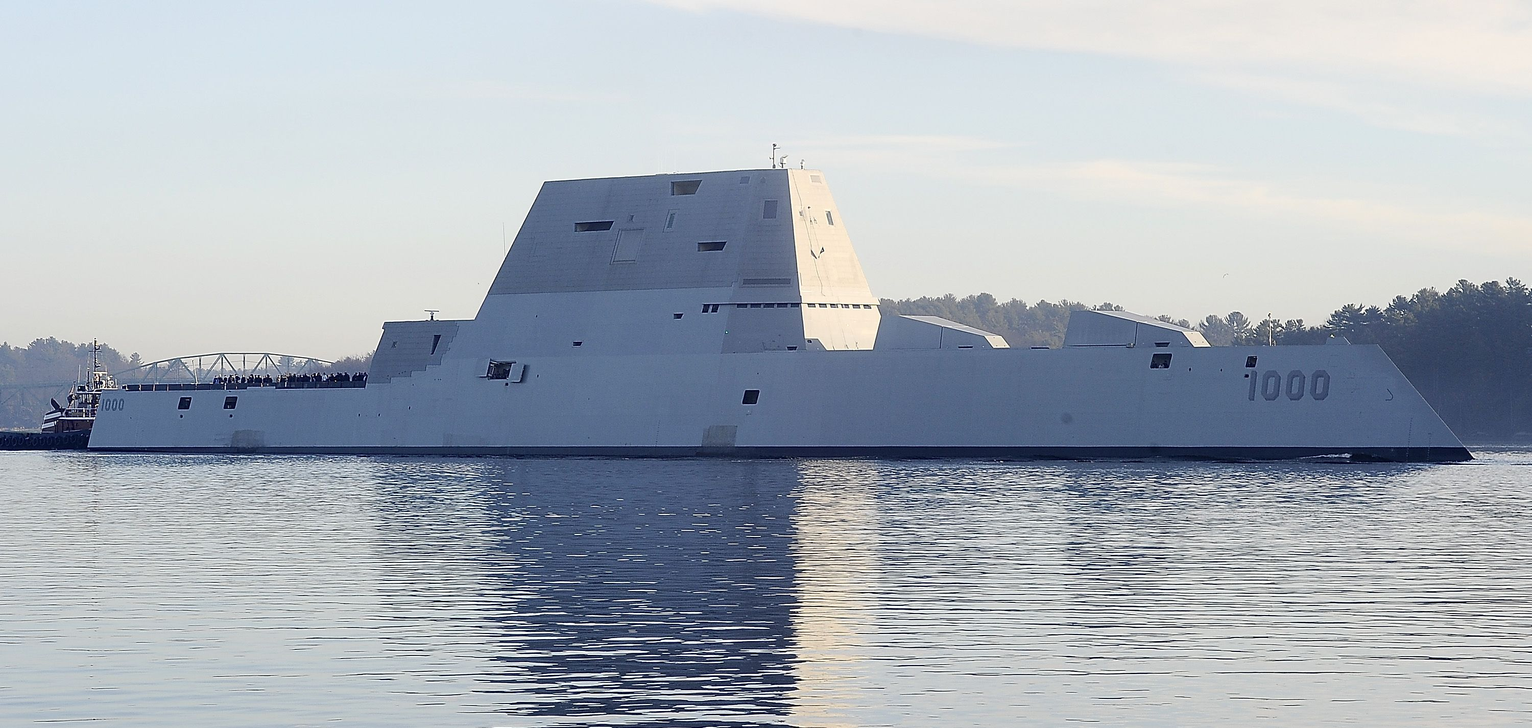 The Navy's Zumwalt Destroyers Are the First to Rock Mach 17 Missiles