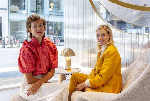 Tatiana and Gayle Noonan of sella concept