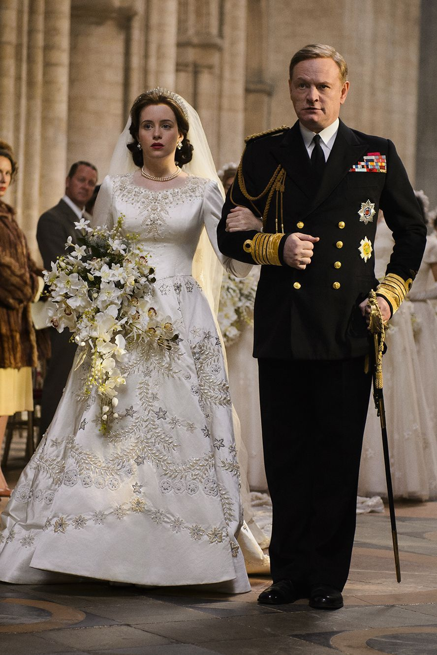 Image result for the crown season 1 wedding gifs