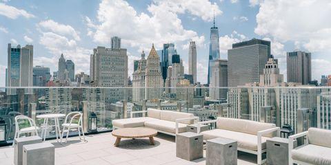 Las Mejores Terrazas De Nueva York Tomar Algo En Lo Alto