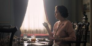 Olivia Colman as Queen Elizabeth in The Crown.