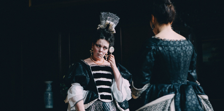 The Favourite Queen Anne Olivia Colman