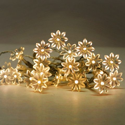 20 LED Sunflowers Warm White