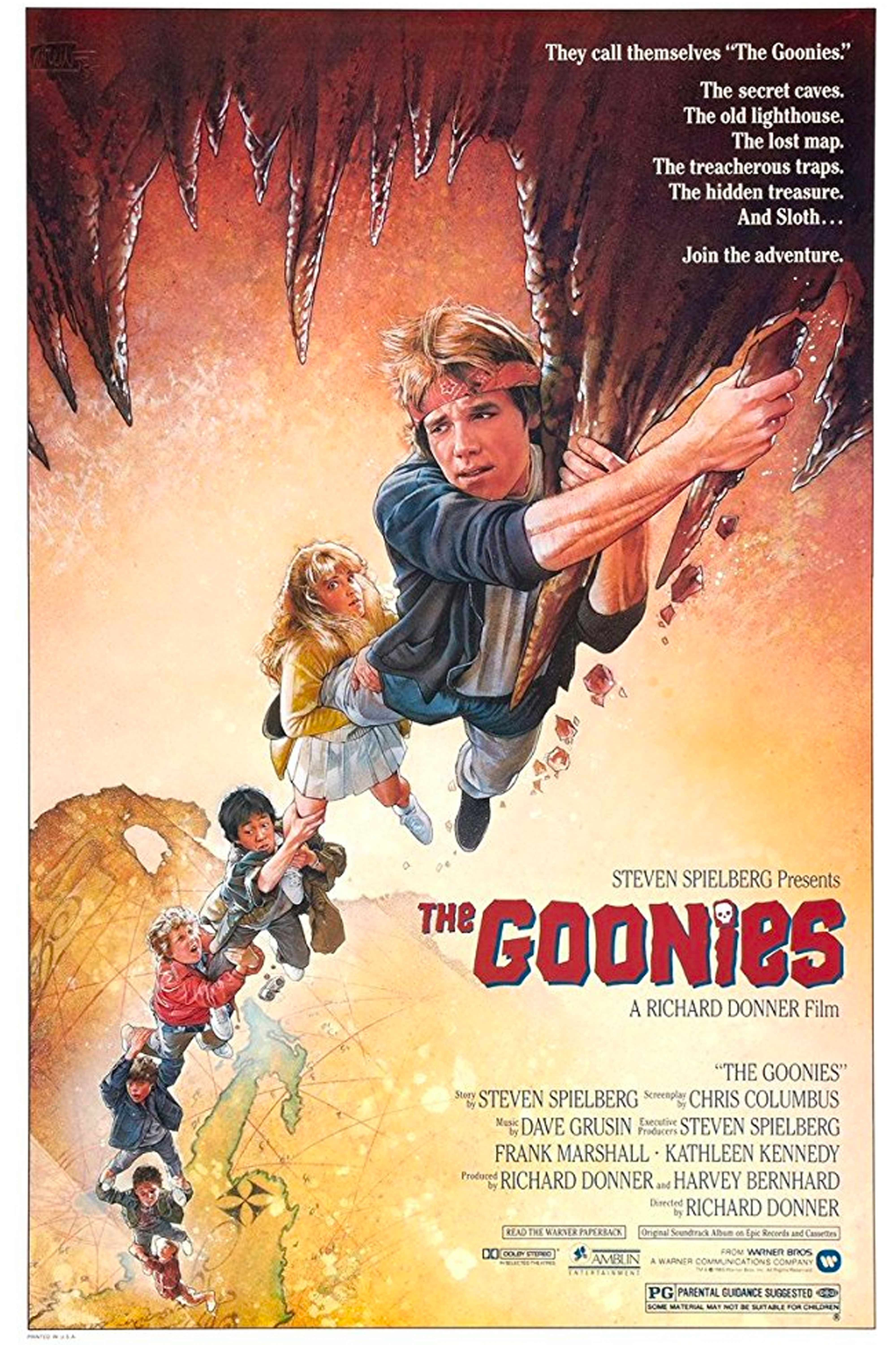 "Watch Now Summer Vibes: Hometown adventure, real hidden treasure, hiding from parents, being a kid Favorite Quote: ""Goonies never say die."" - Michael ""Mikey"" Walsh (Sean Astin) Filmed At: Astoria, Oregon"