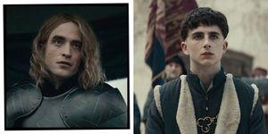 The King Timothee Chalamet Robert Pattinson Hair