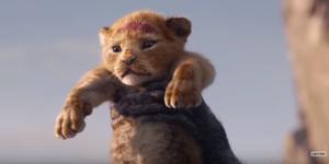 The Lion King trailer 2019, Simba.