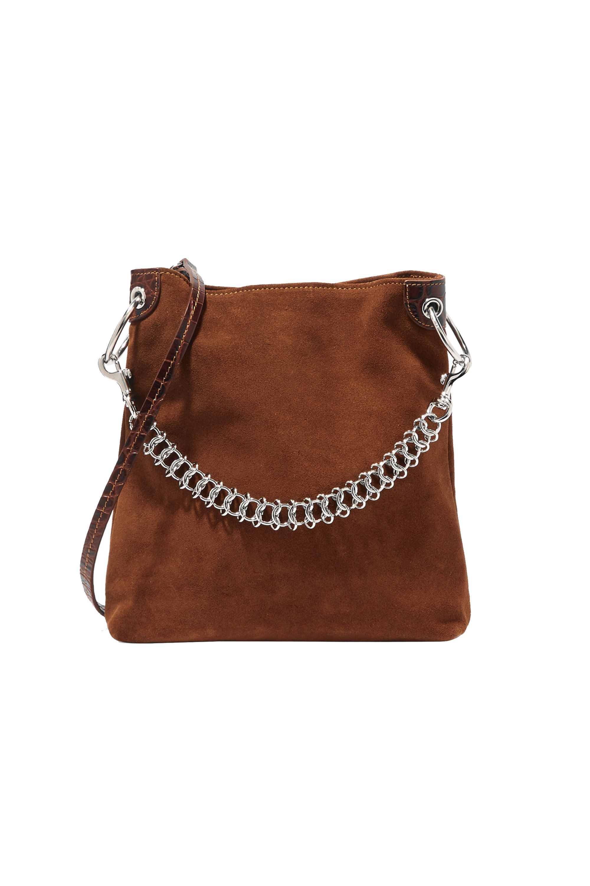 Little Liffner Suede Shoulder Bag