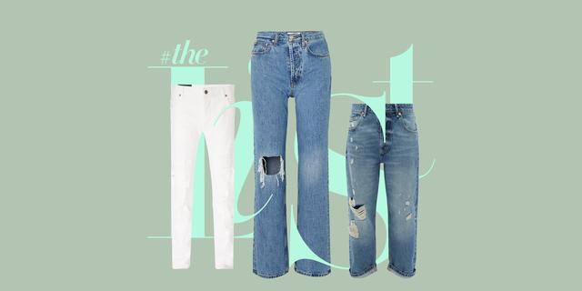 jeans strappati estate 2020 jeans nuovi che sembrano consumati