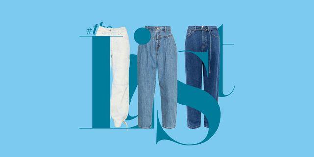 jeans slouchy balloon estate 2020