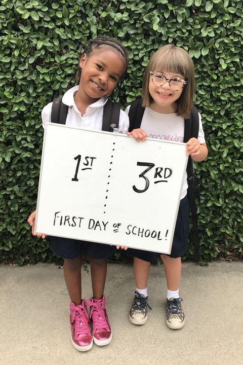 first day of school friends