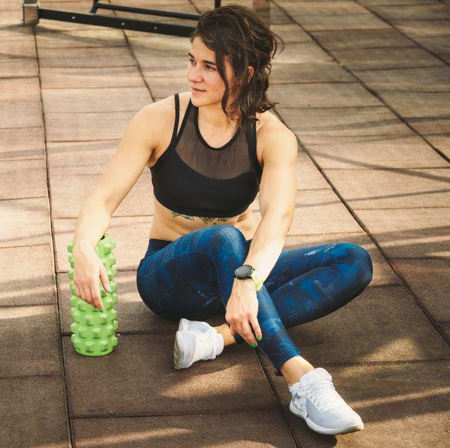 foam roller workout, women's health uk