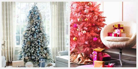Christmas Tree Living Room Ideas.15 Brilliant Themed Christmas Tree Ideas Elegant Themed