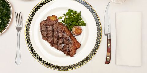 Steak at Lutyens Grill, The Ned, London