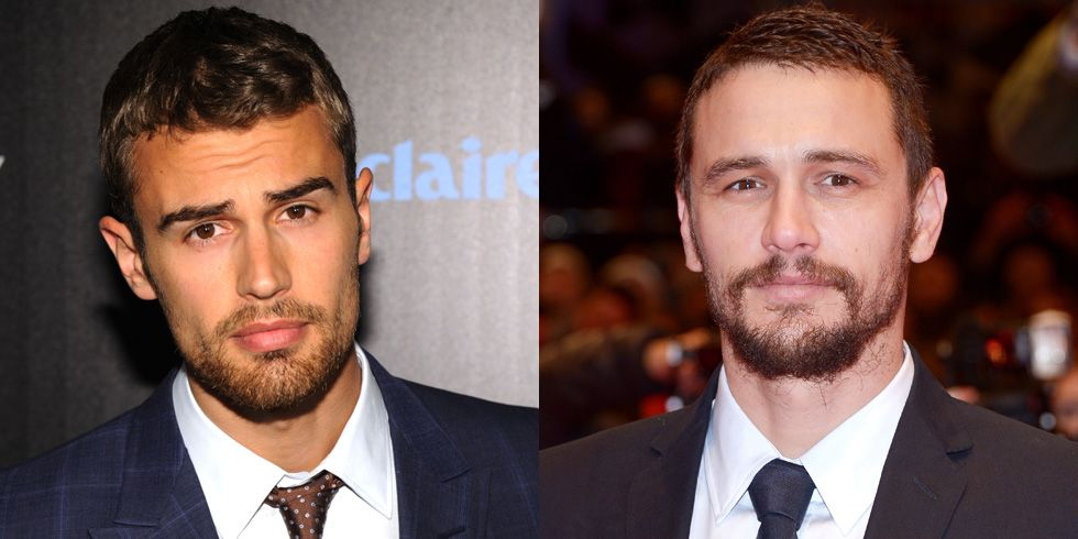 Theo James and James Franco The Divergent star and the 127 Hours actor might as well just be one person: Theo James Franco. According to Theo James, the paparazzi have mistaken him for Franco before.