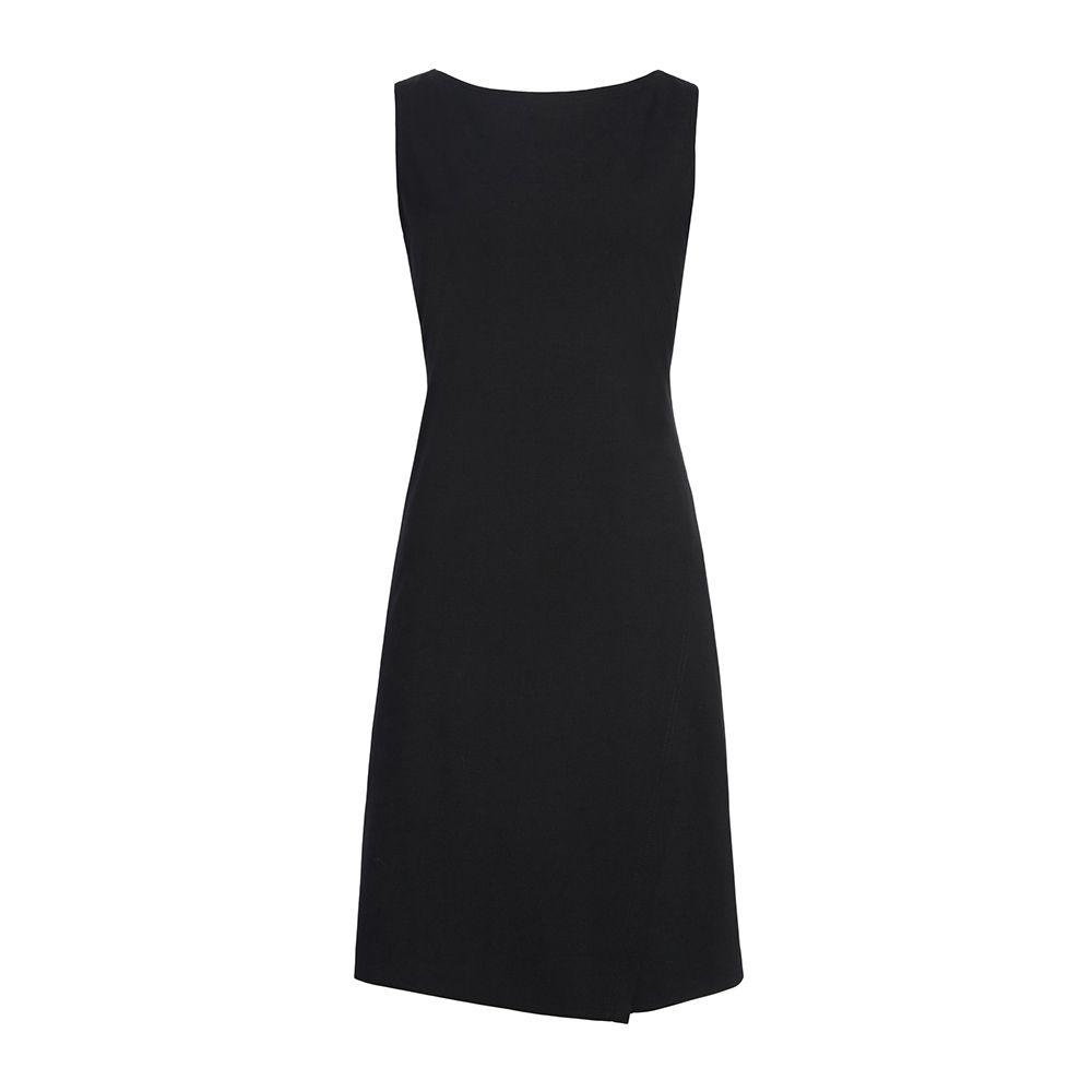 theory black a-line dress