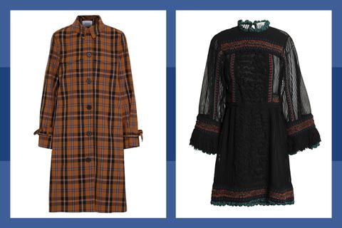 Sleeve, Collar, Pattern, Textile, Fashion, Maroon, Design, Plaid, Fashion design, Tartan,
