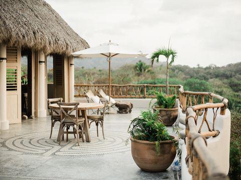 Property, Resort, Building, House, Vacation, Room, Eco hotel, Interior design, Furniture, Real estate,