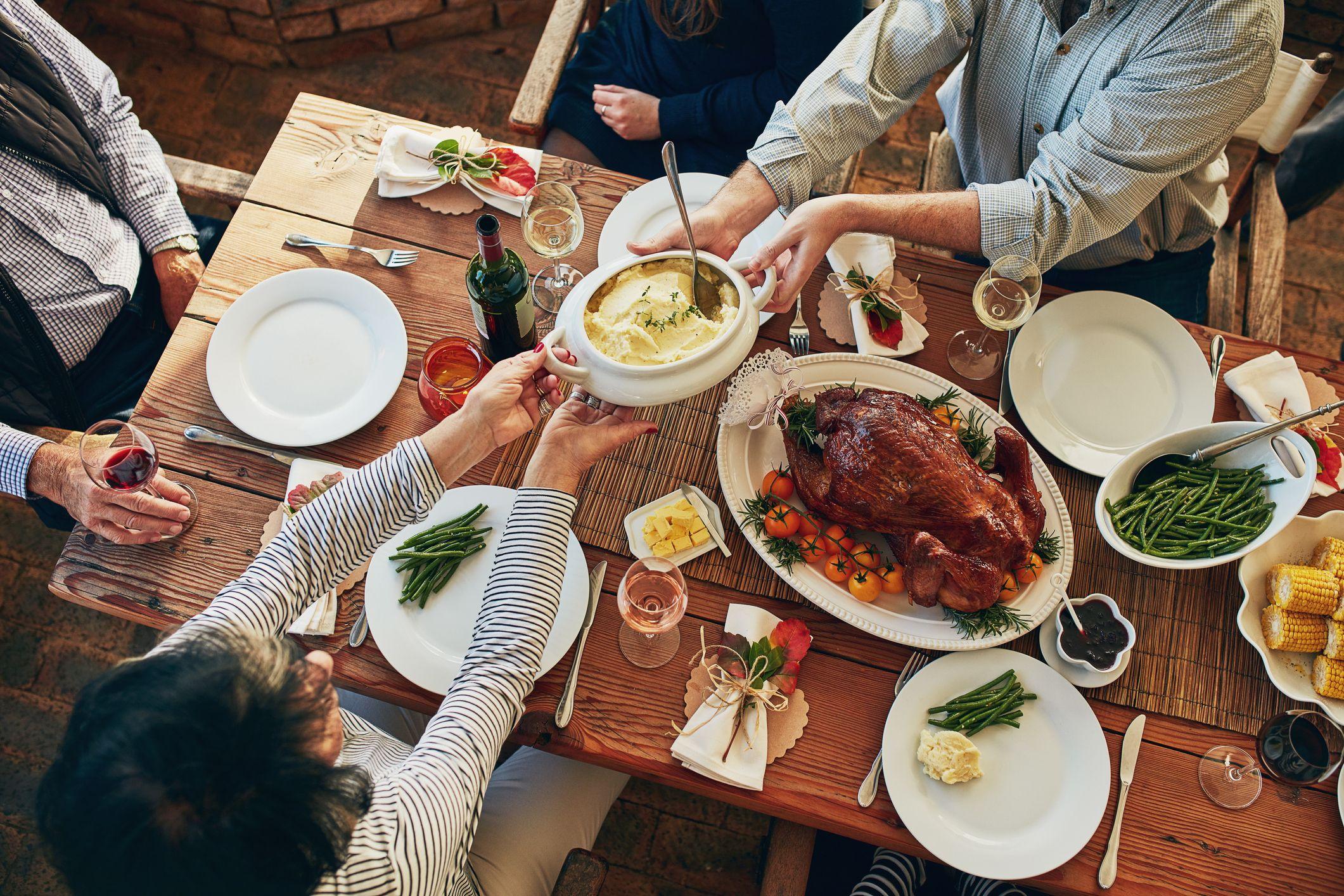 Watch Thanksgiving Dinner: 5 Easy Ways to SaveCalories video