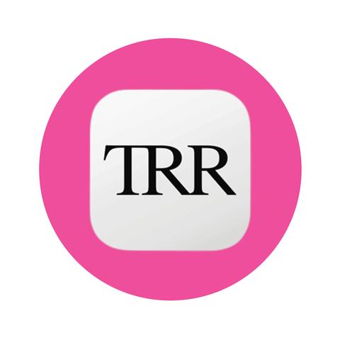 Pink, Text, Logo, Font, Line, Material property, Circle, Magenta, Graphics, Brand,