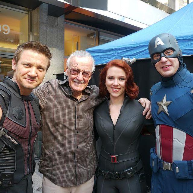 Superhero, Fictional character, Captain america, Event, Costume, Team,