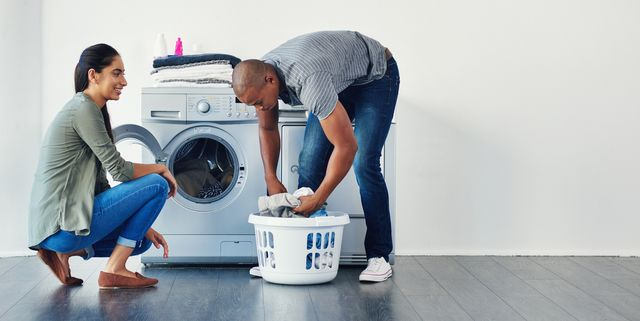there's something attractive about men doing chores