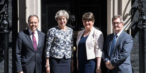 The Conservatives and DUP sign an agreement