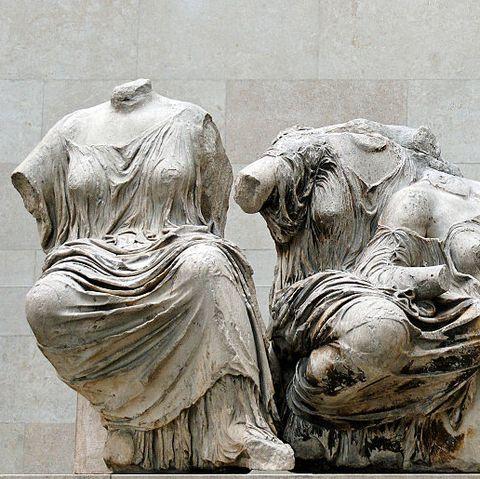 Leto, Artemis and Aphrodite from Parthenon east pediment