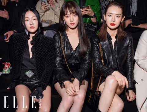 2019春夏, 巴黎時裝週, Saint Laurent,時尚秀,小S,徐熙娣,李聖經
