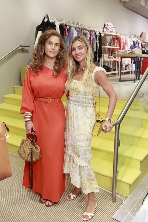 Clothing, Dress, Pink, Yellow, Fashion, Fashion design, Fun, Gown, Costume, Peach,